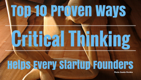 Critical Thinking Helps Every Startup Founders