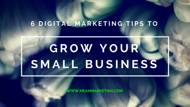6 Digital Marketing Tips To Grow Your Small Business